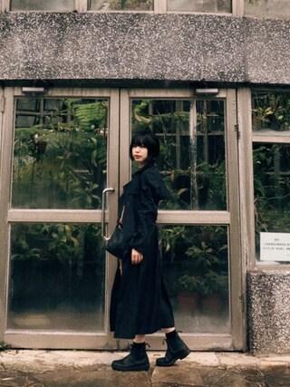 eriさんの「【KARA/カラ】 LARGE SOW A WAY:ショルダーバッグ(KARA|カラ)」を使ったコーディネート