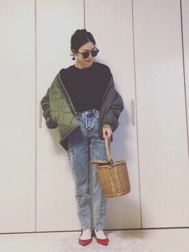 yumi_mamaさんの「キルティングジャケット(Ungrid)」を使ったコーディネート