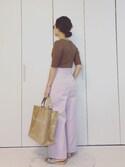 yumi_mamaさんの「アソート*SETリング 745553(LOWRYS FARM|ローリーズ ファーム)」を使ったコーディネート