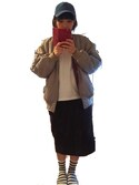 H・Yさんの「MA-1リバーロゴジャケット【niko and ...】(niko and...|ニコアンド)」を使ったコーディネート