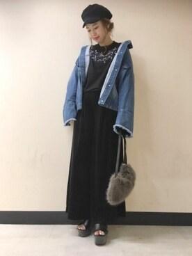 JEANASIS 東急プラザ蒲田|yukie_JEANASISさんのコーディネート