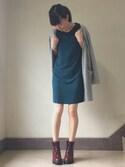 カフカさんの「Women's Olivia Burton Flower Show Leather Strap Watch, 30Mm(Olivia Burton|オリビアバートン)」を使ったコーディネート