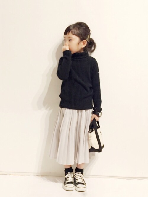 yuuunaさんの「プリーツスカート(petit main)」を使ったコーディネート