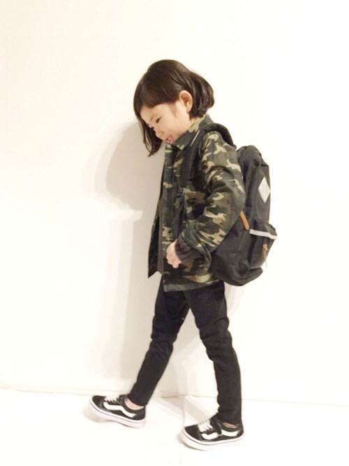 yuuunaさんの「ミリタリージャケット(b-room)」を使ったコーディネート
