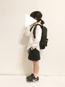 yuuunaさんの「NIKE / 17S PMDランナー PS (16.5~22cm)(こども ビームス|コドモビームス)」を使ったコーディネート