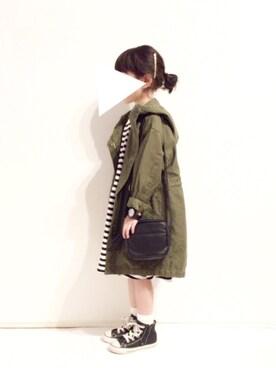 yuuunaさんのショルダーバッグ「タッセル付きショルダーバッグ(petit main|プティマイン)」を使ったコーディネート
