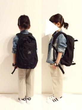 yuuunaさんのTシャツ/カットソー「ワンポイント&ポケット半袖Tシャツ2枚セット(b・ROOM ビールーム)」を使ったコーディネート