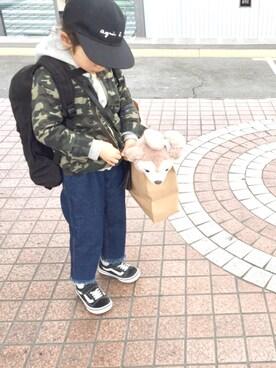 yuuunaさんの「ミリタリージャケット(b-room|ビールーム)」を使ったコーディネート