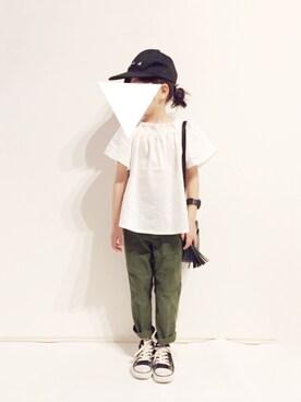 yuuunaさんの「カーゴパンツ(AZUL by moussy|アズールバイマウジー)」を使ったコーディネート