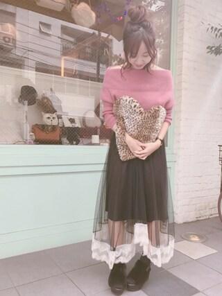 Casselini shop|natsumiさんの(snidel|スナイデル)を使ったコーディネート