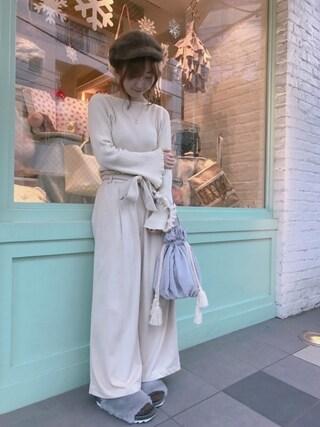 Casselini shop|natsumiさんの(who's who Chico|フーズフーチコ)を使ったコーディネート