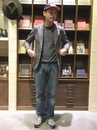 ユナイテッドアローズ 原宿本店 メンズ館|吉岡  玲欧さんの(The Stylist Japan|ザスタイリストジャパン)を使ったコーディネート