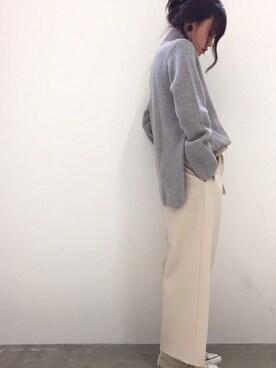 ADAM ET ROPE'  札幌PARCO|anri  oyamaさんの(ADAM ET ROPE'|アダム エ ロペ)を使ったコーディネート