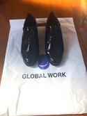 ミカンさんの「レースアップヒールシューズ/741140(GLOBAL WORK グローバルワーク)」を使ったコーディネート