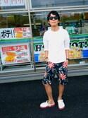 takeshiさんの「front court clog/フロント コート クロッグ(crocs|ユナイテッドアローズ)」を使ったコーディネート