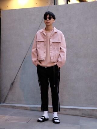 モンキータイム ビューティ&ユース ユナイテッドアローズ 原宿店|大谷和宏さんの「<424> STARofDAVID NCKLC G/ネックレス(424 CLOTHING|フォートゥーフォー クロージング)」を使ったコーディネート