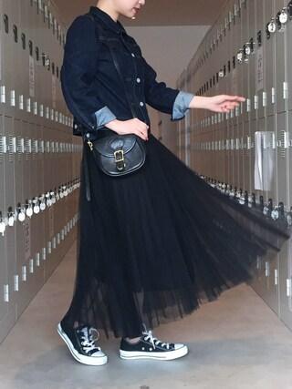 YUKIさんの「DOORS デニムジャケット(URBAN RESEARCH DOORS WOMENS|アーバンリサーチ ドアーズ ウィメンズ)」を使ったコーディネート