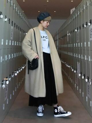 YUKIさんの「converse(コンバース) ALL STAR HI(オールスターHI)(CONVERSE|コンバース)」を使ったコーディネート