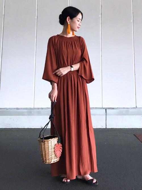 結婚式服装コーデ秋
