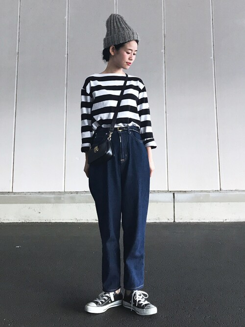 yukiさんの「【SOMETHING×ADAM ET ROPE'】FRENCH NOUVEAU ROOMY(SOMETHING)」を使ったコーディネート