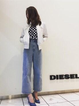 DIESEL タカシマヤ ゲートタワーモール|Kimさんの(DIESEL|ディーゼル)を使ったコーディネート