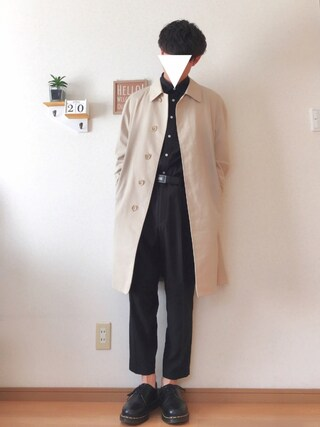 おさゆうさんの「WEGO/スタンダードブロードシャツ(WEGO|ウィゴー)」を使ったコーディネート