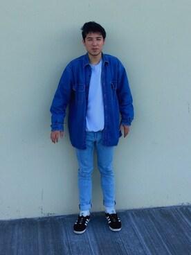 「Levi's 501 Slim-Fit Stretch-Denim Jeans(Levi's)」 using this daniel looks
