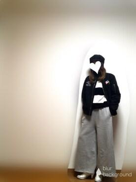 shijuさんの(AZUL by moussy|アズールバイマウジー)を使ったコーディネート