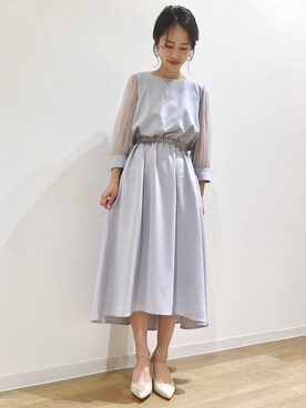 apart by lowrys /なんばマルイ店|maruさんのドレス「OCドットチュール