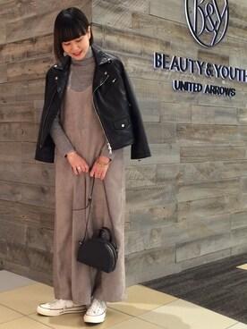 ビューティ&ユース ユナイテッドアローズ 西宮店|Tomomi Okudaさんの(BEAUTY&YOUTH UNITED ARROWS|ビューティアンドユースユナイテッドアローズ)を使ったコーディネート