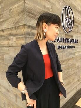 BEAUTY&YOUTH UNITED ARROWS|Tomomi Okudaさんの(BEAUTY&YOUTH UNITED ARROWS|ビューティアンドユースユナイテッドアローズ)を使ったコーディネート