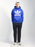 「【adicolor】オリジナルス パーカー[ORIGINALS 3FOIL HOODIE](adidas)」 using this まっこい looks