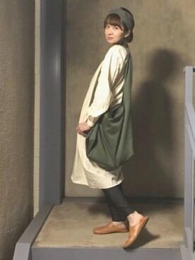 階段暮らしのウルカマラさんの(YAECA ヤエカ)を使ったコーディネート