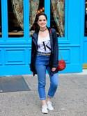 (Calvin Klein Jeans) using this Kathleen Harper looks