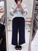 yuzuさんの「シシュウバルンチュニック/745062(JEANASIS ジーナシス)」を使ったコーディネート