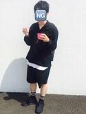 シャカモさんの「NIKE AIR MAX FLAIR【SP】(NIKE|ナイキ)」を使ったコーディネート