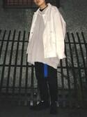 kento   fujiwaraさんの「ロングガチャベルト(WHO'S WHO gallery|フーズフーギャラリー)」を使ったコーディネート