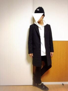 AYU.さんの「UR PONTE TORTO CHESTER COAT(URBAN RESEARCH)」を使ったコーディネート