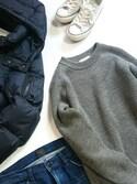 真田丸のプーさんさんの「西川ダウンG2ジャケット(nano・universe ナノユニバース)」を使ったコーディネート