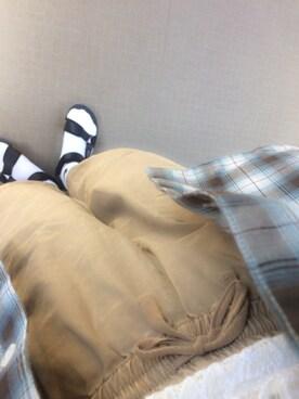 miwaさんの「SUICOKE×Ray BEAMS / 別注 DEPA(suicoke)」を使ったコーディネート
