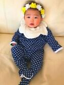 Yuinaさんの「形のかわいいスタイ(KP|ケーピー)」を使ったコーディネート