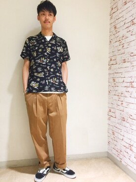 HYSTERIC GLAMOURルミネエスト店|森 拓巳さんの(HYSTERIC GLAMOUR|ヒステリックグラマー)を使ったコーディネート