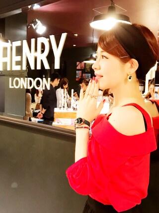"""まりさまさんの「HENRY LONDON """"STRATFORD<25mm>"""" HL25-S-0128(HENRY LONDON ヘンリーロンドン)」を使ったコーディネート"""