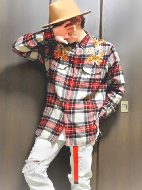 release date c0a79 09715 kenya Gucciのシャツ・ブラウスを使ったコーディネート - WEAR