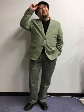 野坂幸史さんの(Dr.Martens|ドクターマーチン)を使ったコーディネート
