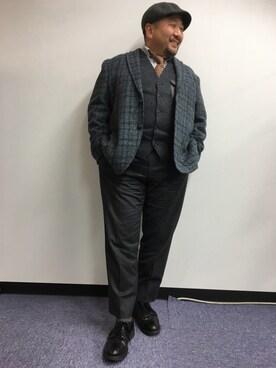 野坂幸史さんの「RED WING / レッドウイング: POSTMAN OXFORD SHIOES / オックスフォードシューズ#(RED WING|レッドウィング)」を使ったコーディネート