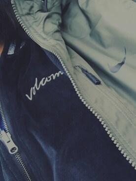 MIKAさんの(VOLCOM|ボルコム)を使ったコーディネート