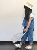 ✴︎ゆっさんさんの「Filt Net Bag 301 25*25 GY(TODAY'S SPECIAL トゥデイズスペシャル)」を使ったコーディネート