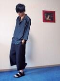 MA☻W☪︎⋆さんの「【MADE IN JAPAN】チャームネックレス(HARE)(HARE|ハレ)」を使ったコーディネート