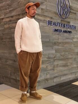 ビューティ&ユース ユナイテッドアローズ 西宮店|Yuta Okazakiさんの(BEAUTY&YOUTH UNITED ARROWS)を使ったコーディネート